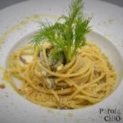 Spaghetti con le sarde e mollica