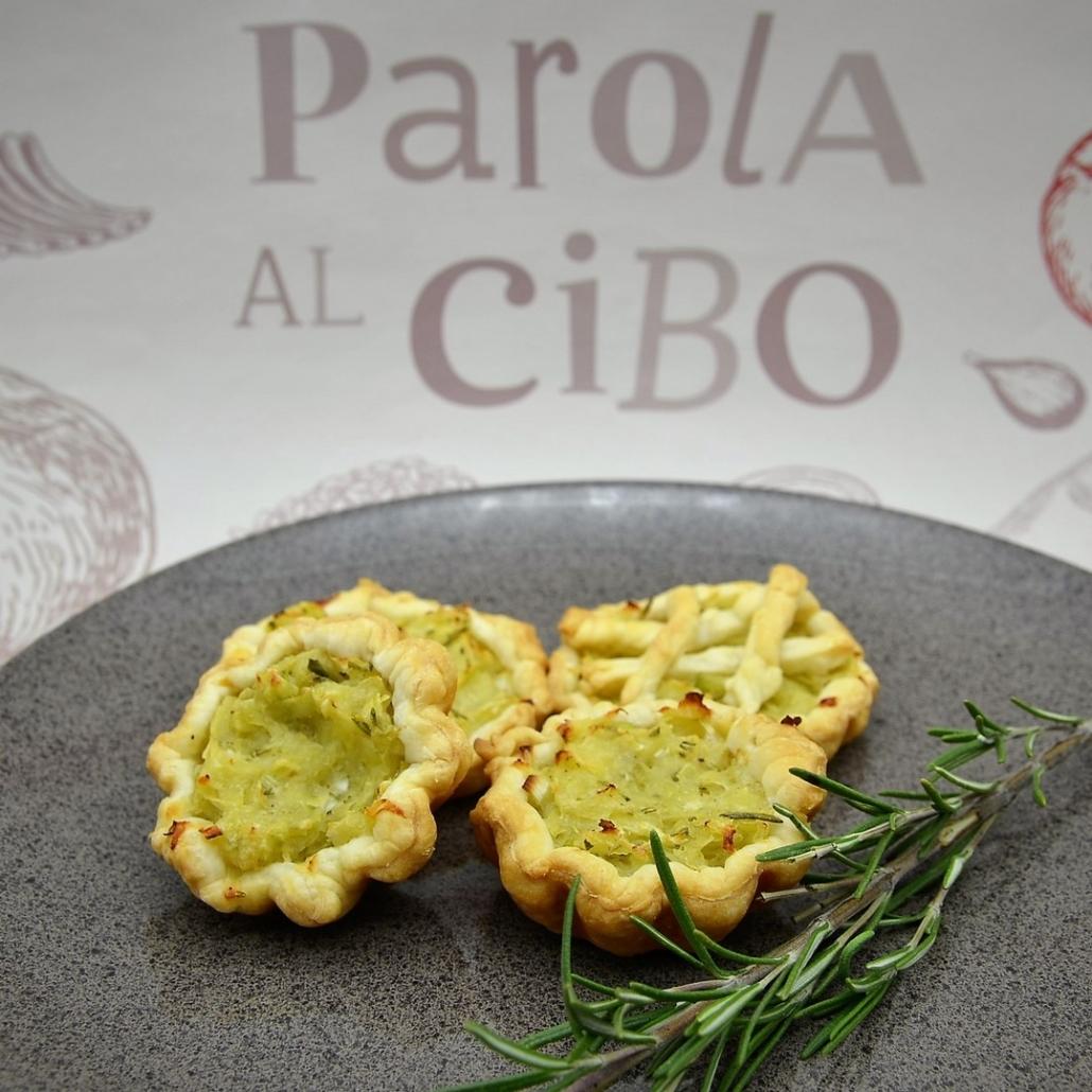 Tartellette di patate e rosmarino