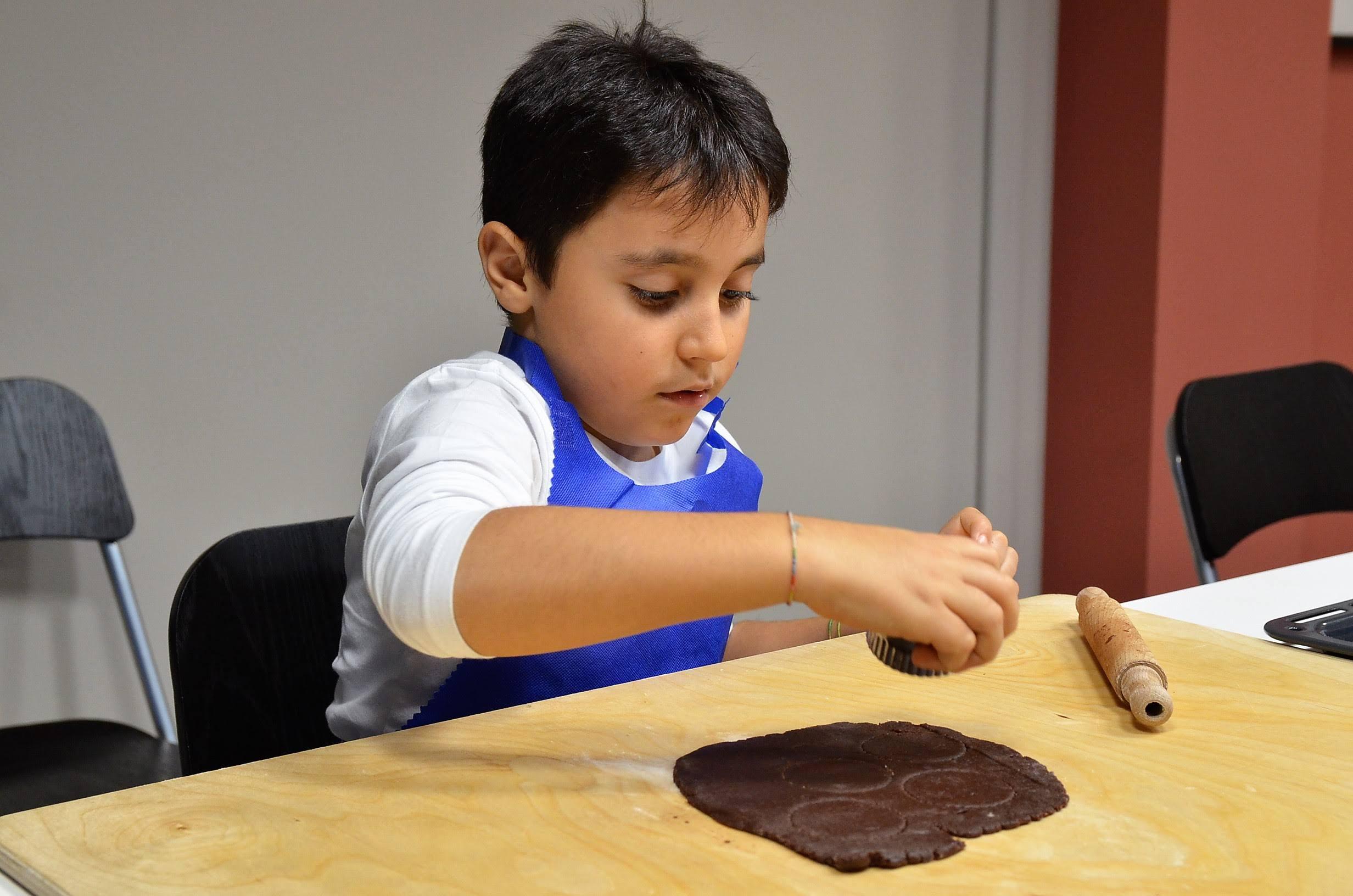 scuola di cucina parola al cibo laboratorio bambini
