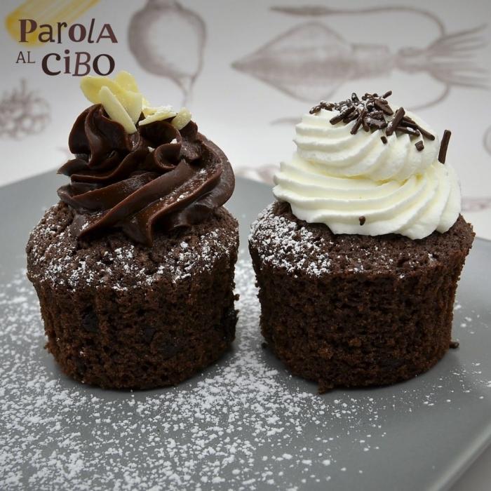 scuola di cucina parola al cibo Cupcake al cioccolato