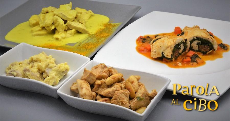 scuola di cucina parola al cibo pollo