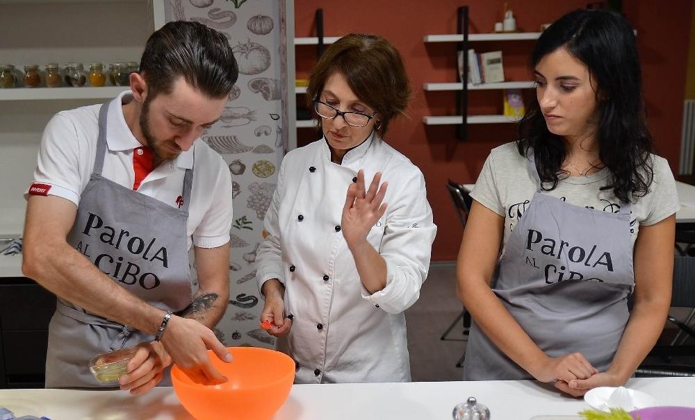 scuola di cucina parola al cibo lezioni di coppia