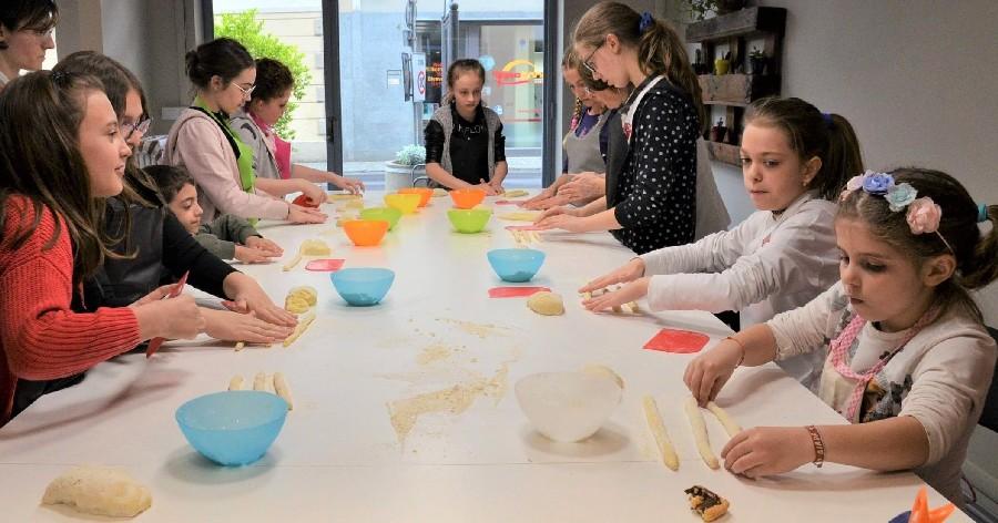 scuola di cucina parola al cibo laboratori ragazzi
