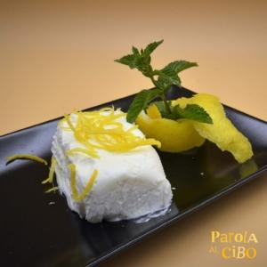 scuola di cucina parola al cibo ricette Semifreddo al limone