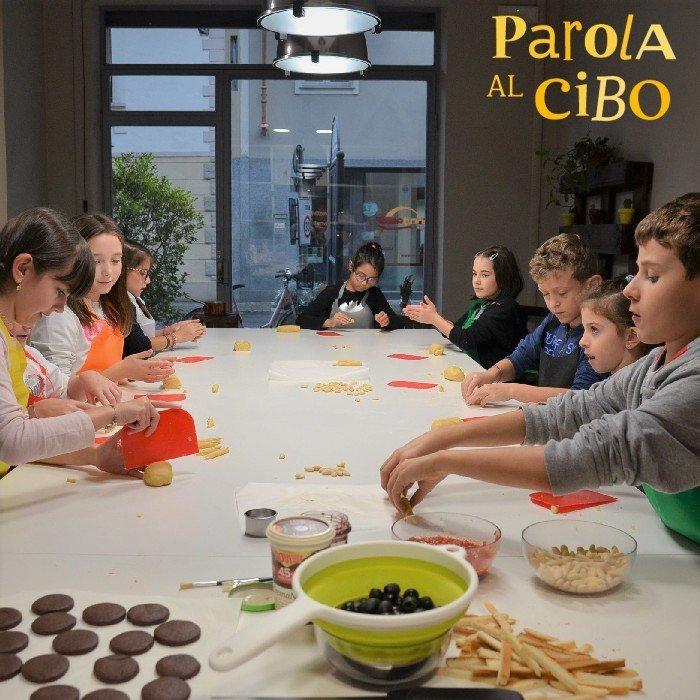 scuola di cucina parola al cibo photogallery laboratorio ragazzi