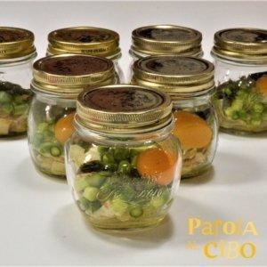 scuola di cucina parola al cibo ricette Asparagi e uova in vasocottura