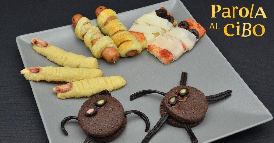 Scuola di cucina parola al cibo laboratorio halloween