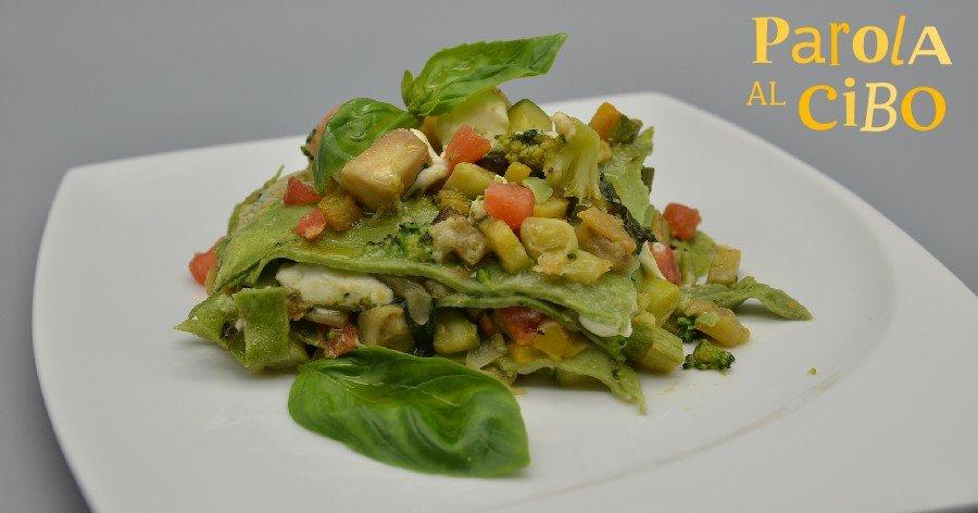 Scuola di cucina parola al cibo lasagne
