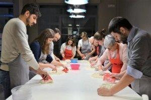 Scuola di cucina parola irene team building