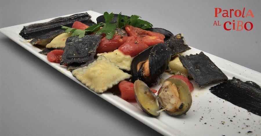 scuola di cucina parola al cibo pesce ravioli
