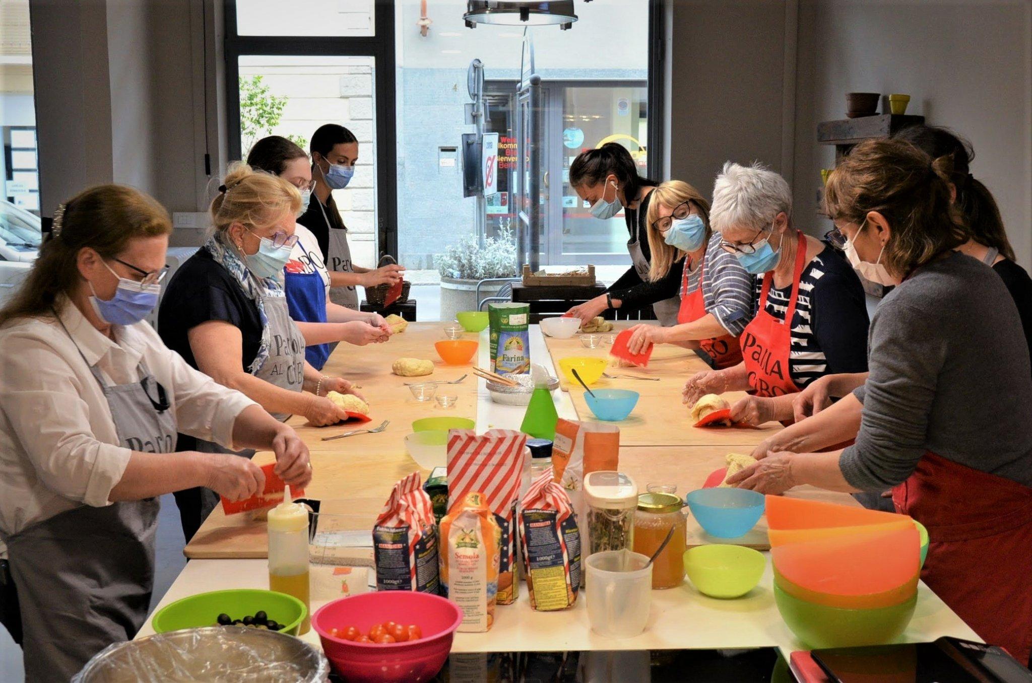scuola di cucina parola al cibo